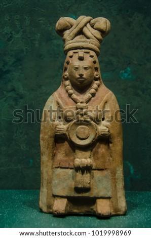 Haina mayan scultpure #1019998969