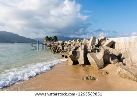 Hainan Sanya boundary boundary scenic spot scenery #1263569851
