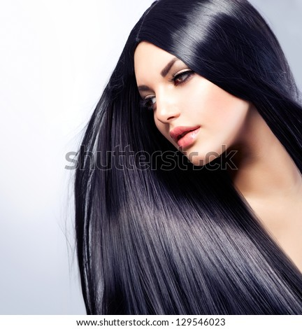 Royalty Free Stock Photos And Images Hair Beautiful Brunette Girl
