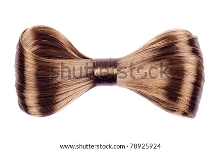 hair-pin  isolated on a white background