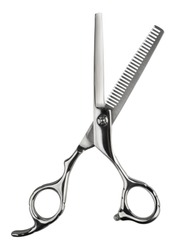 Hair scissors  isolated on white background