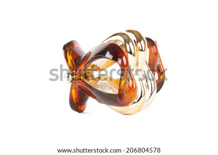 hair-slide isolated on white background