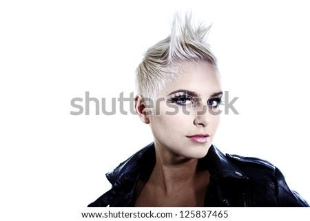 Hair Styled Model