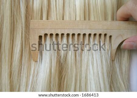hairdresser - stock photo