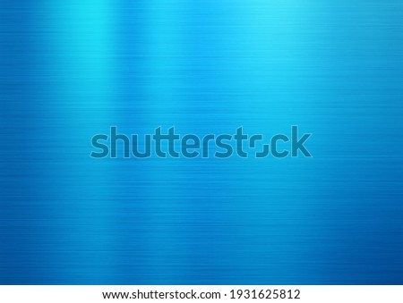 hairline finish blue color stainless steal plate Сток-фото ©