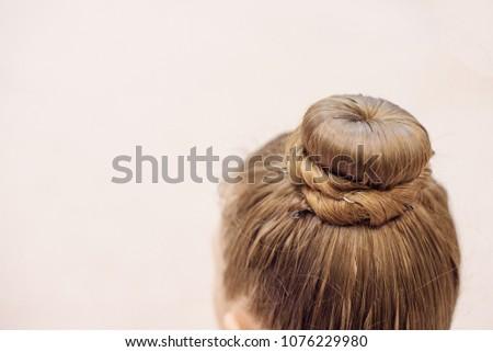 hairstyle for rhythmic gymnastics