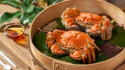 hairy crab for Mid-Autumn Festival