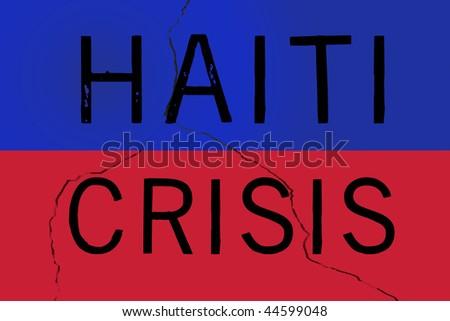 Haiti Crisis - stock photo