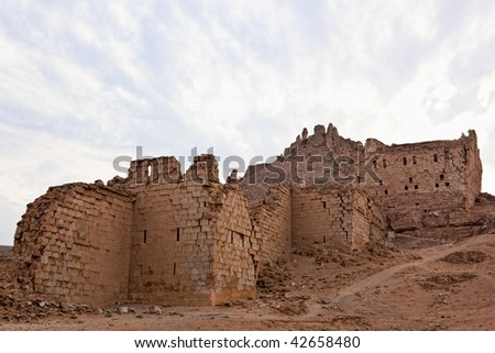 Halabia is situated on the Euphrates, as part of the Silk Road until the downfall of Palmyra (queen Zenobia). During the reign of the Byzantines was restored with massive fortifications.