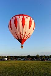 Hale Hot Air Balloon Festival in Michigan.