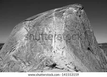 Half Dome, Yosemite, Sierra Nevada California, USA #141553159