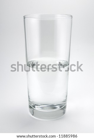 Half Empty, or Full, Glass of Water