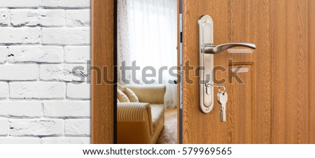 open door welcome welcome mat half opened door handle closeup entrance to living room welcome privacy concept free photos door handle