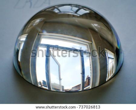 half sphere of crystal #737026813