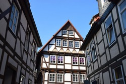 Half-timbered house of the Weser Renaissance