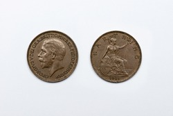 Halfpenny 1930 Coin from United Kingdom