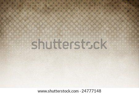 Halftone background brown