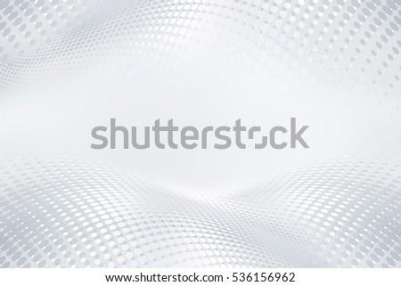 Halftone raster white gray background. Decorative web layout concept.