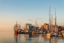 Halifax in the Early Morning (During the Nova Scotia Tall Ship Festival 2017)