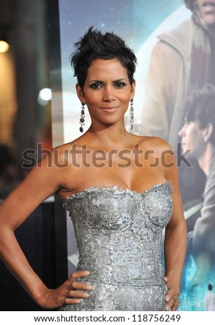 "Halle Berry at the Los Angeles premiere of her new movie ""Cloud Atlas"" at Grauman's Chinese Theatre, Hollywood. October 24, 2012  Los Angeles, CA Picture: Paul Smith"