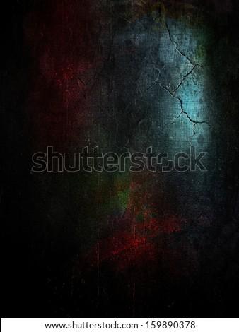 halloween black background in spooky atmosphere