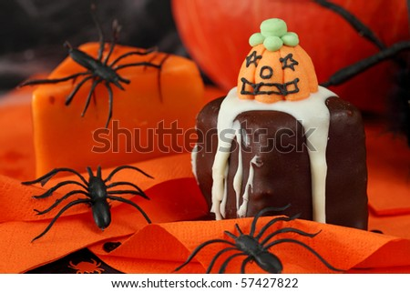 Halloween cakes and decoration