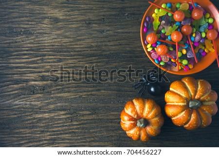 halloween candy party dessert...