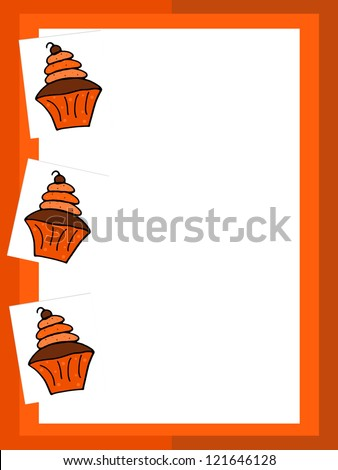 Halloween Cupcake - Text