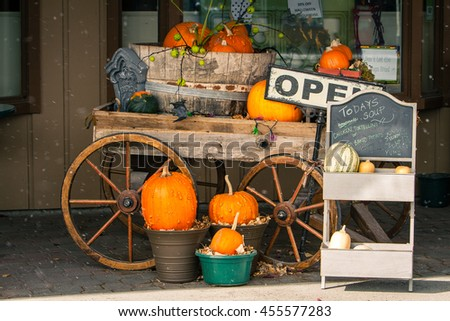 halloween decorations  cart...