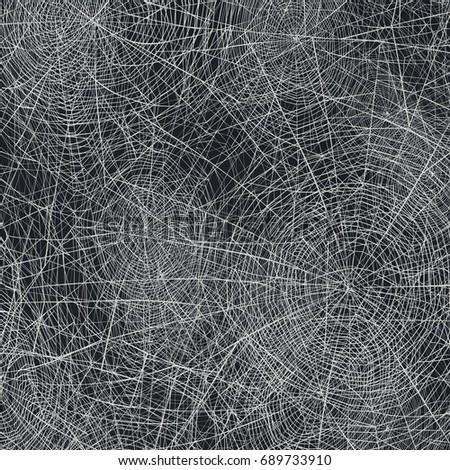 Halloween holiday background. Spider web  raster background.