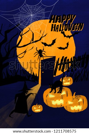Halloween illustration illustration