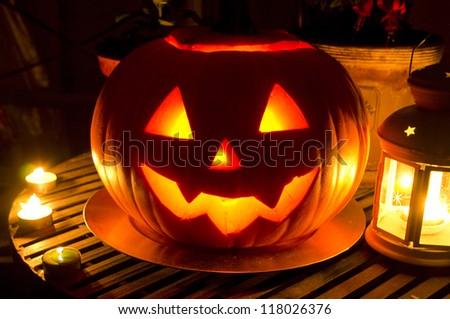 Halloween Jack O\' Lantern pumpkin