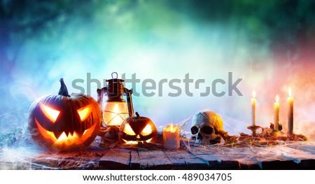 halloween   lanterns and...