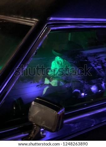 Halloween limo driver