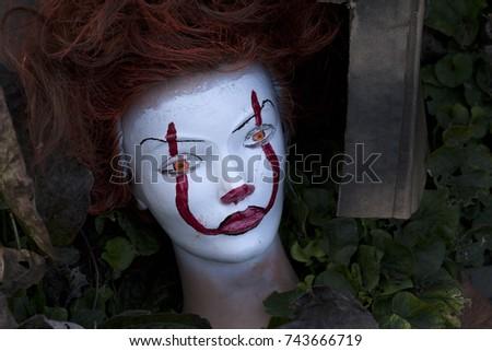 Halloween mannequin head #743666719