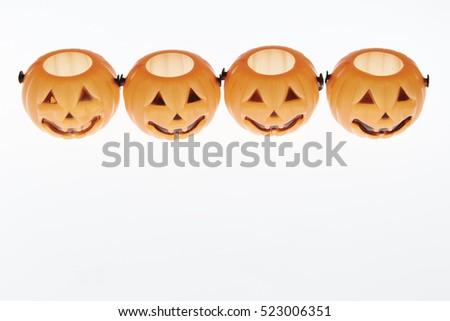 Halloween objects  #523006351