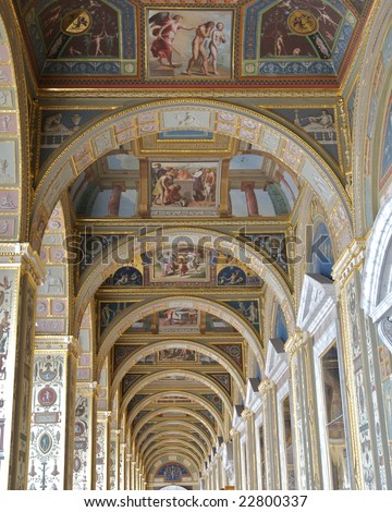 Hallway, Hermitage Museum, St Petersburg