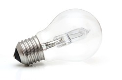 Halogen eco light bulb