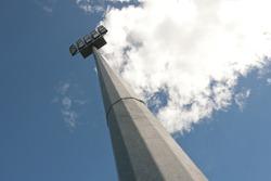 Halogen lights equipment in sport field