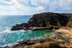 Halona Blowhole Oahu Hawaii