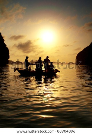Halong Bay, Hanoi Vietnam and its spectacular view
