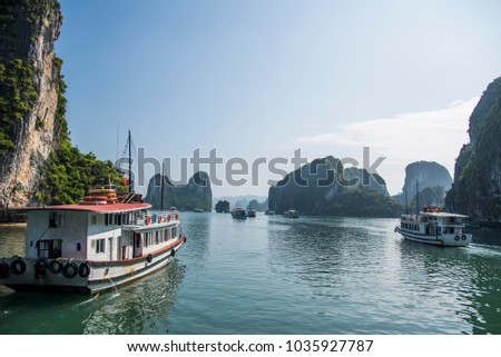 Halong Bay, Vietnam #1035927787