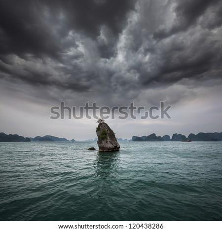 Halong Bay,Vietnam - stock photo