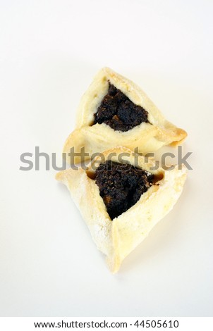 Hamantaschen (Jewish cookies with poppy seed)