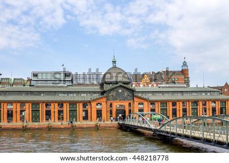 Hamburg, Altona, fish Market,