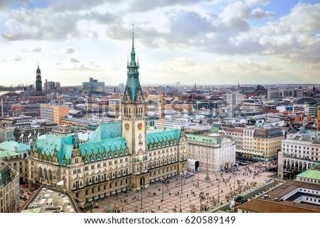Hamburg city hall, Germany #620589149