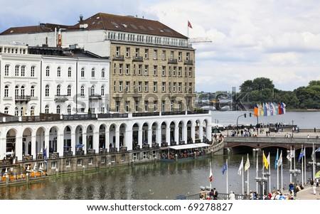 Hamburg on the Alster