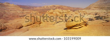 Hamburger Rock, The Wave, Sandstone Formation, Kenab, Utah