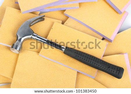 Hammer and document