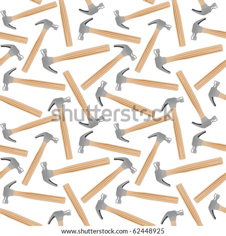 hammer seamless pattern, abstract texture; art illustration; for vector format please visit my gallery